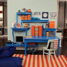 {Inspiration} Desks in kids bedrooms