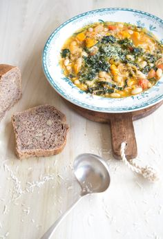 How To Make An Soupe Au Pistou {French Vegetable Soup With Basil Paste}   WholeLifestyleNutrition.com