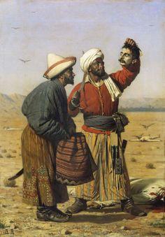 Василий Верещагин - После удачи (1868)