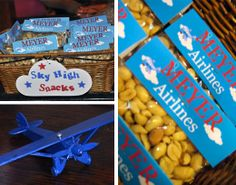 Airplane theme baby shower by Attention 2 Detail Events | Chickabug