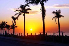 Por do sol - Barra da Tijuca