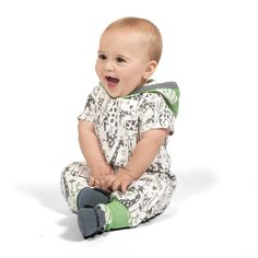 Tesa Babe Romper with Forest /& Animals Print for Newborns /& Baby Boys