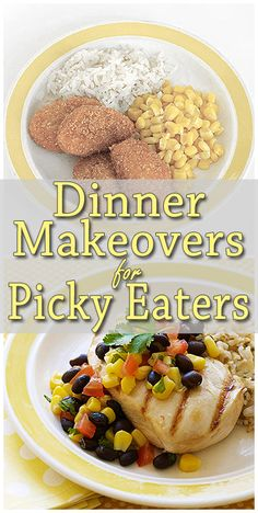 Help your kid's mealtime requests evolve past the chicken nuggets with these easy tweaks to their favorite dinners.  http://www.parents.com/recipes/cooking/kid-friendly-food/dinner-detox-for-picky-eaters/?socsrc=pmmpin130221fDinnerMakeovers