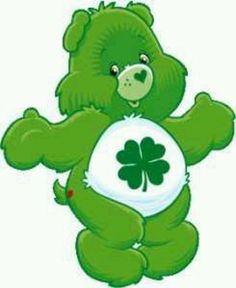 ♥♥ ♡ When we divided up the original 10 Care Bears® among my children there was one left. This little guy became mine. Luck Bear stills reminds me of times playing with my children. ♡