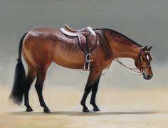 Equine Artist: Janet Crawford on Cavalcade