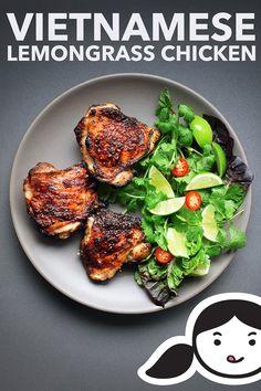 Vietnamese Lemongrass Chicken - Nom Nom Paleo® - This Vietnamese Lemongrass Chicken is packed with umami and my whole family loves - Asian Recipes, Healthy Recipes, Ethnic Recipes, Delicious Recipes, Nom Nom Paleo, Clean Eating, Healthy Eating, Slow Cooker, Whole 30 Recipes