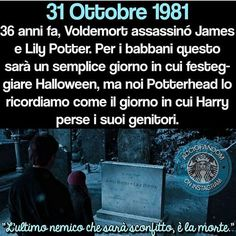 31 october 1981 36 years ago, Voldemort killed James and Lily Potter. For muggle this is Hallowen, but for us is the day in which Harry's parents died Harry Potter Tumblr, Harry Potter Cast, Harry Potter Love, Harry Potter Books, Harry Potter World, Lily Potter, Hogwarts Classes, Voldemort, Fandoms