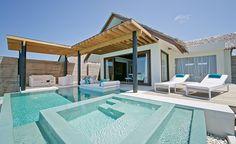 Hôtel Niyama (Maldives) - Studio Deluxe sur Pilotis avec Piscine Privée - Une ode au luxe moderne. Faites place à la détente sur une magnifique terrasse avec vue imprenable sur l'océan.