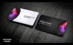 business card - photographer by HaithamYussef on DeviantArt Custom Business Cards, Business Card Design, Photographer Business Cards, Wedding Album, Name Cards, Paper Art, Deviantart, Photo And Video, Prints