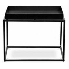 Konferenční stolek Amado je celý vyroben z kovu.