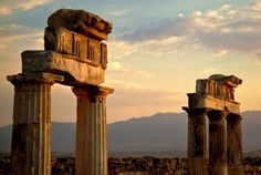 Greek columns at the ruins of Hierapolis...some day!