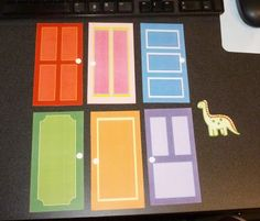 """""""Dinosaur, Dinosaur, are you behind the (color) door?"""" …"""