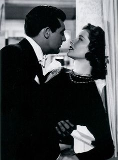 Cary Grant and Katharine Hepburn in Holiday (1938) - Love this film!