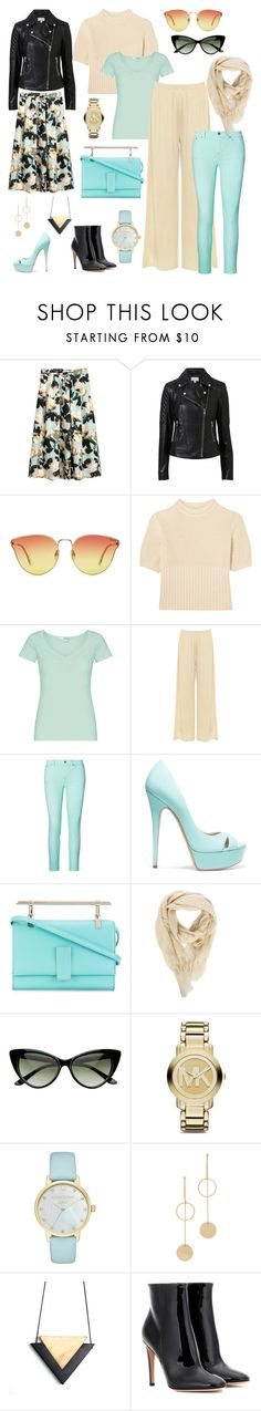 """OUTFIT CASUAL 2017"" by olesyashef on Polyvore featuring мода, Witchery, Totême, WearAll, Casadei, Marcel Seraphine, Rick Owens, Michael Kors, Kate Spade и Cloverpost"
