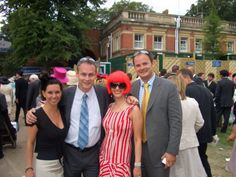 thea and julie pendelpho at ascot and not sure who the chaps are! lol.  #thea #funtimes #horses #ascot