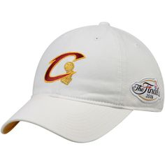 Cleveland Cavaliers Mitchell & Ness 2016 NBA Finals Champions Tonal N Gold Dad Adjustable Hat - White