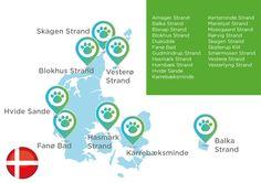 Hundestrände Dänemark Skagen, Strand, Map, Doggies, Viajes, Location Map, Maps