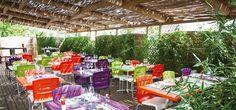 La terrasse du restaurant - Dijon
