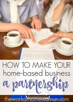 Running a business from your home is a personal undertaking, and it's uncomfortable inviting someone into your house to help run a company. But if you think someone would make a great business partner, and you can move past that discomfort, a partnership may be a great option for your home-based business as long as you properly set it up.