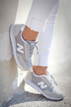 3093b8e998ead New Balance Grey Shoes, New Balance Trainers, New Balance Womens Shoes, New  Balance