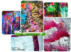 a PEEK inside my art journaling process by Traci Bautista