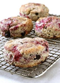 Gluten-Free & Vegan Blueberry Scones