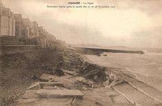 Saint-Malo, tempête du 28 et 29 novembre 1905 (La digue). Un mois plus tard, alors que les travaux de réparation ne sont pas achevés, une seconde tempête détruit à nouveau une partie de la digue... Belle Epoque, Digue, Beautiful Pictures, Photography, Painting, Times, Vintage, Antique Pictures, Posters