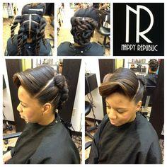 I love love love this style! Via Nappy Republic
