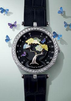 Van Cleef & Arpels - The Poetry of Time™ - the art in this is beautiful