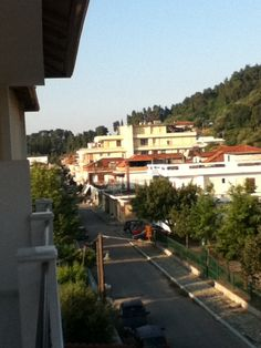 From my hotel balcony at Ancient Olympia, Greece