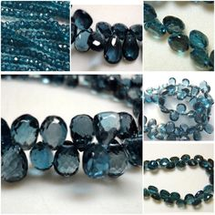 Rich and always in vogue - London Blue Topaz! Shop original in all sizes and shapes at flat 50% STOREWIDE!   Only on Gemsforjewels -  https://www.etsy.com/in-en/shop/gemsforjewels