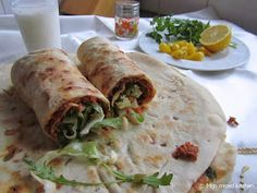 Mijn mixed kitchen: Lahmacun (zelfgemaakte Turkse pizza) Pizza, Foodies, Tacos, Mexican, Vegan, Ethnic Recipes, Mexicans