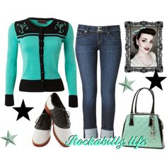"""Rockabilly life"" by elsa-morales on Polyvore"