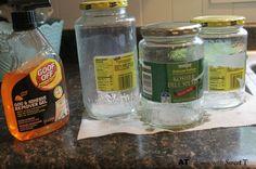 boho jars, crafts