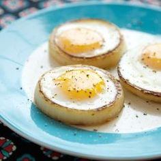 egg in onion