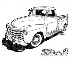 1947 Chevrolet Classic Truck Clip Art is part of Chevy trucks - 1947 Chevrolet Pickup Truck Clip Art Gmc Trucks, Old Pickup Trucks, Truck Drivers, Diesel Trucks, Lifted Trucks, Chevy Trucks Older, Pickup Camper, Jeep Pickup, Toyota Trucks