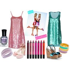 """""""romy and michelle"""" on Polyvore"""