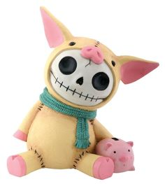 Amazon.com - New Furry Bones Piggy Collectible Coin Bank Figurine - Toy Banks