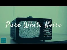 I use white noise sound and made this video for Sleep Aid, Study Aid and Relaxing Sound Masking.