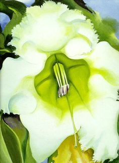 One of America's best-known female artists, Georgia O'Keeffe's bold, poetic flower forms have become modern American classics. Artist: Georgia O'Keeffe Title: Cup of Silver Ginger, 1939 Product type: Georgia O'keefe Art, Georgia O Keeffe Paintings, Georgia Okeefe, Abstract Painters, Famous Artists, American Artists, Oeuvre D'art, Les Oeuvres, Framed Art Prints