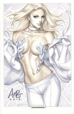 Emma Frost by Artgerm | Stanley Lau *
