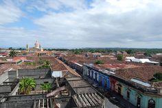 Catedral-de-Granada-y-lago-al-fondo, NICARAGUA