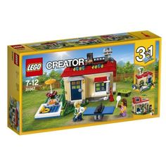 LEGO Creator Modular Poolside Holiday House 31067 for sale online
