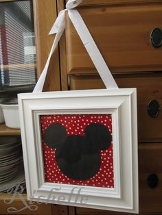Richelle's Creative Corner: Mickey Mouse Decor