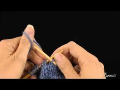Make 1 with Backward Loop to the Right - How to Increase: Learn how to knit the Make 1 with Backward Loop to the Right stitch with this free video from AnniesCatalog.com.