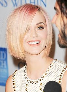 LOVELOVELOVE Katie Perry's New Hair!