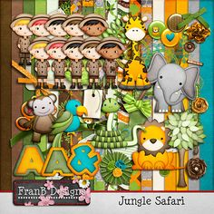 Adventure & Safari Kits - Lion & Tigers & Giraffes, Oh My! - Page 4 - MouseScrappers.com