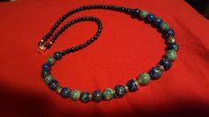 Lapis and Denim lapis.for my Mother in Law Law, Beaded Necklace, Jewelry Making, Jewellery, Denim, Fashion, Beaded Collar, Jewelery, Moda