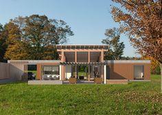Custom designed ultra energy efficient prefab homes by evoDOMUS - evodomus - Adirondack