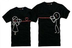 camisetas creativas para parejas 6